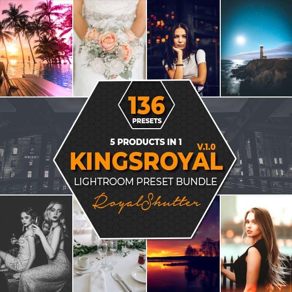 5 IN 1 KingsRoyal Lightroom Presets Bundle V1