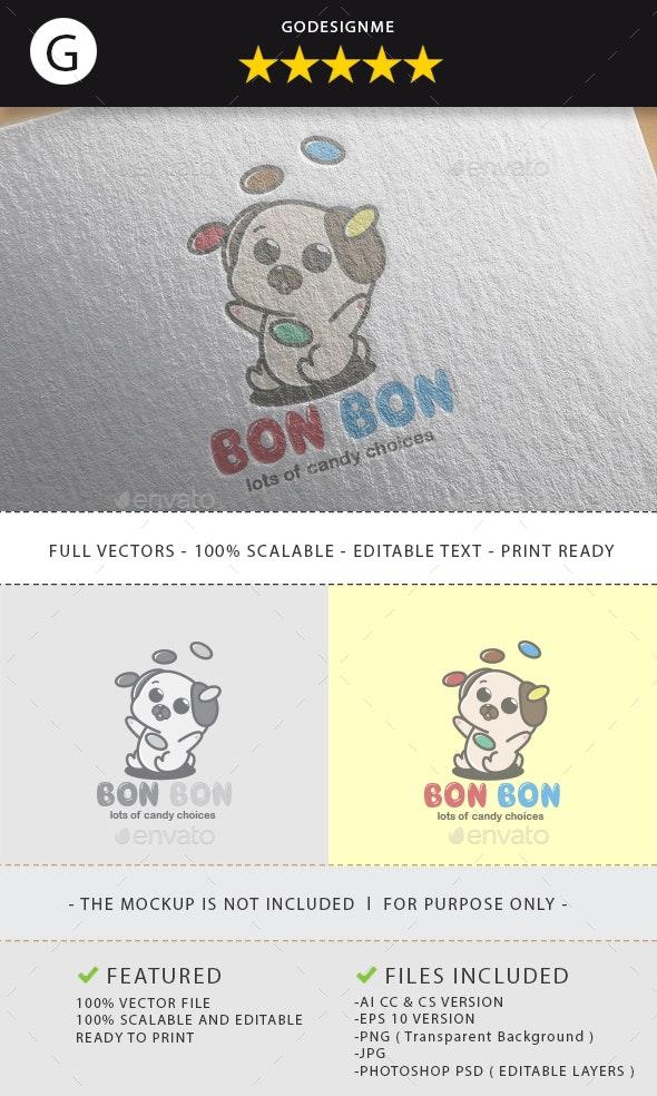 Bon Bon Logo Design - Vector Abstract