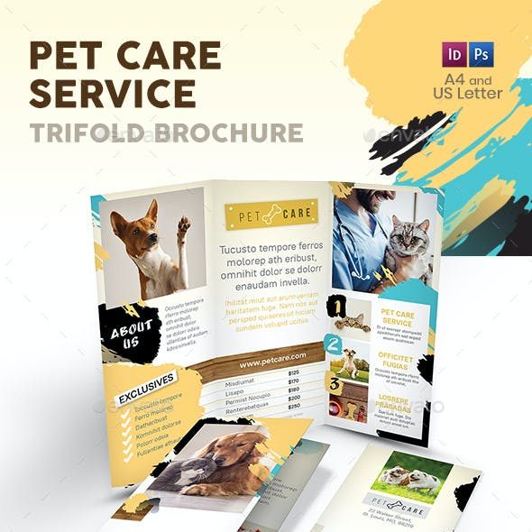 Pet Care Trifold Brochure 8