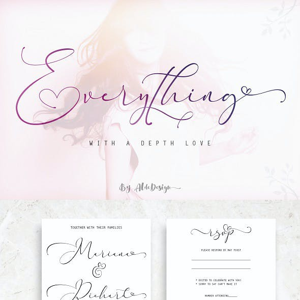 Everything Calligraphy - Font