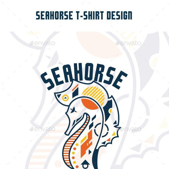 Seahorse T-Shirt Design