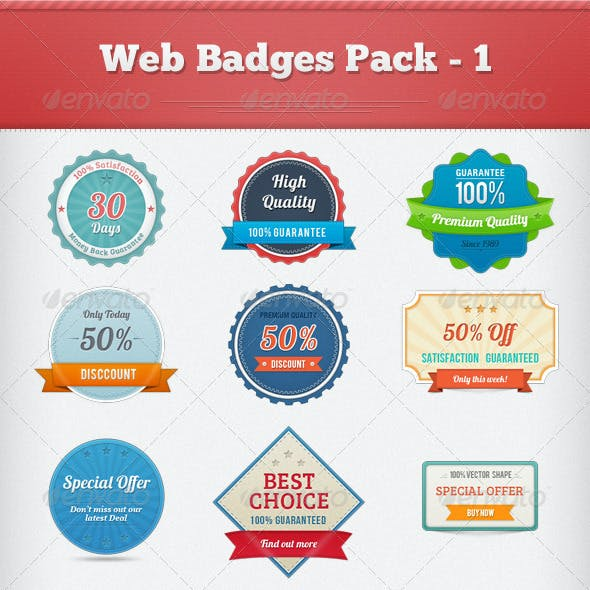 Web Badges Pack