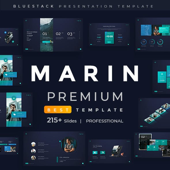 Social Media Creative PowerPoint Templates from GraphicRiver