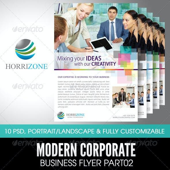 Modern Corporate Business Flyer Part02