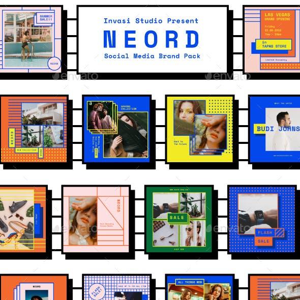 NEORD-Social Media Pack Templates