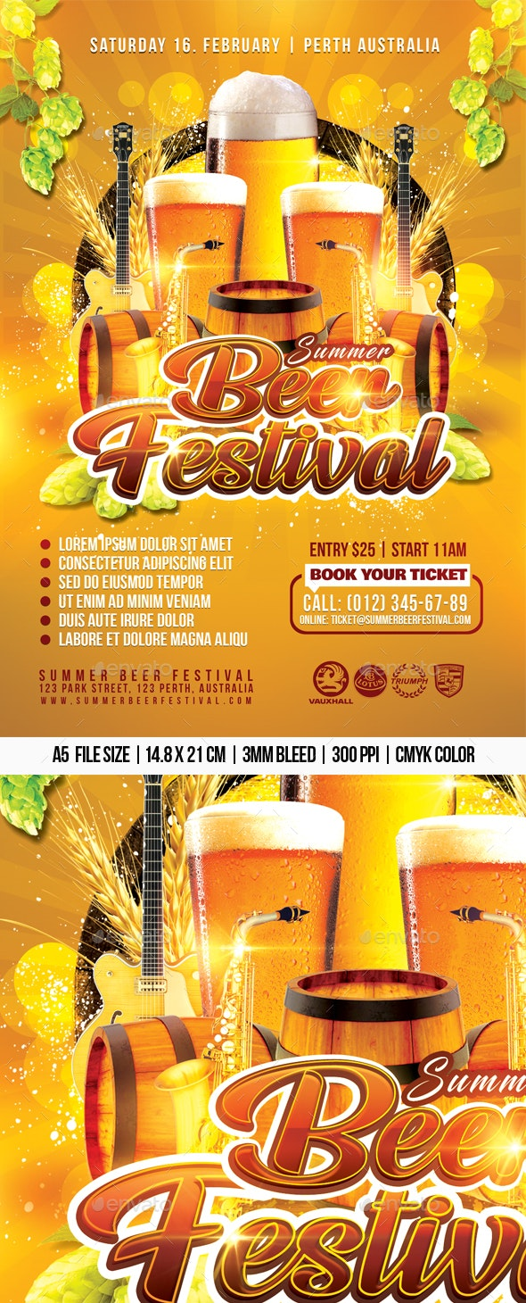 Summer Beer Festival - Clubs & Parties Events
