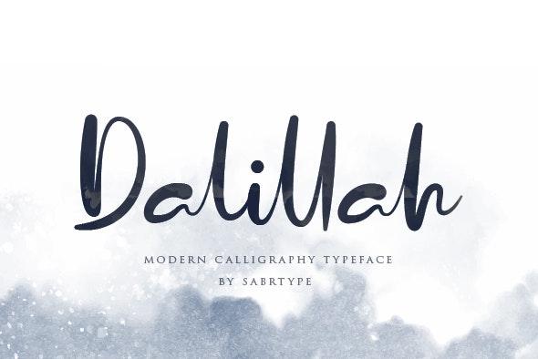 Dalillah - Hand-writing Script
