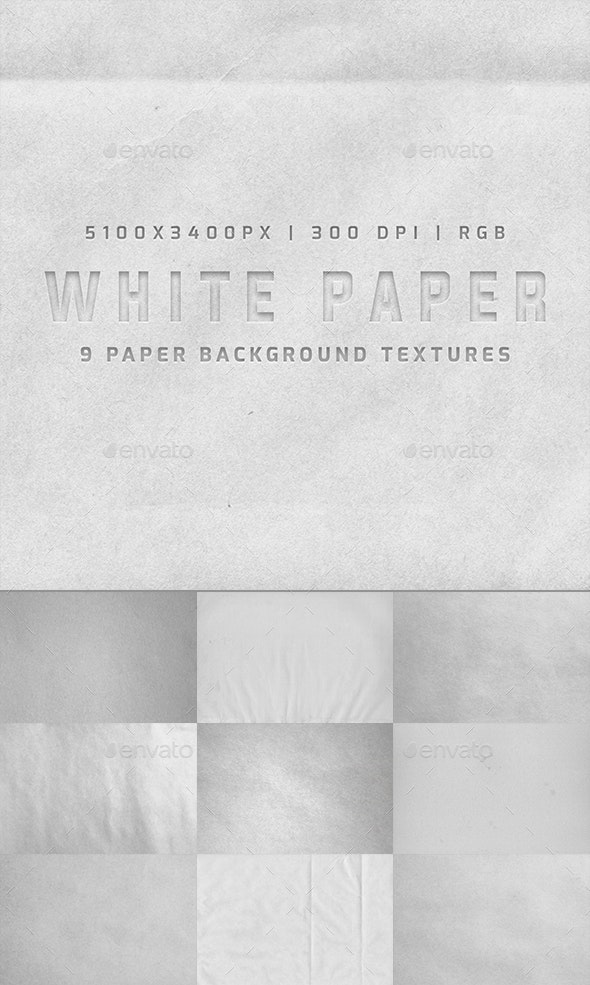 White Paper - Paper Textures