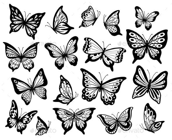 Butterflies - Animals Characters