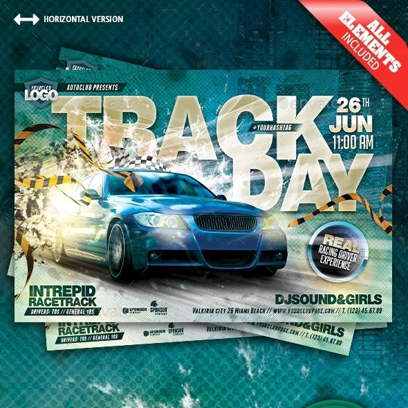 Track Day Flyer