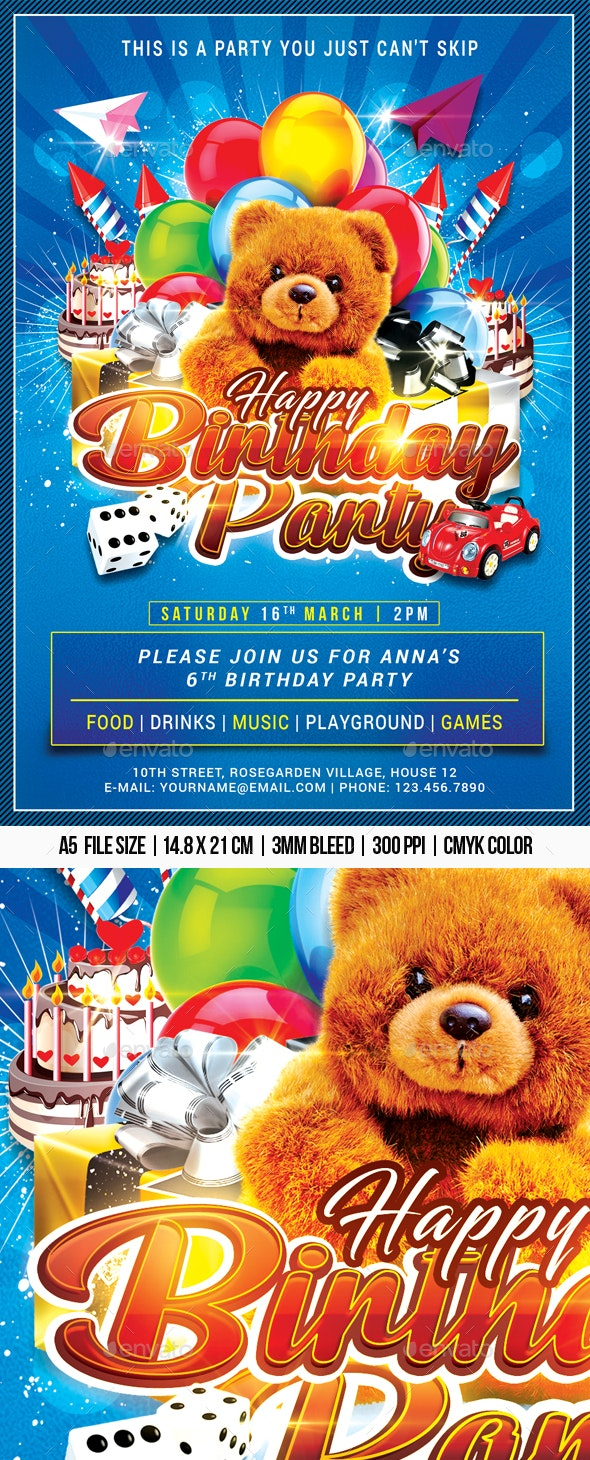 Happy Birthday Party - Clubs & Parties Events