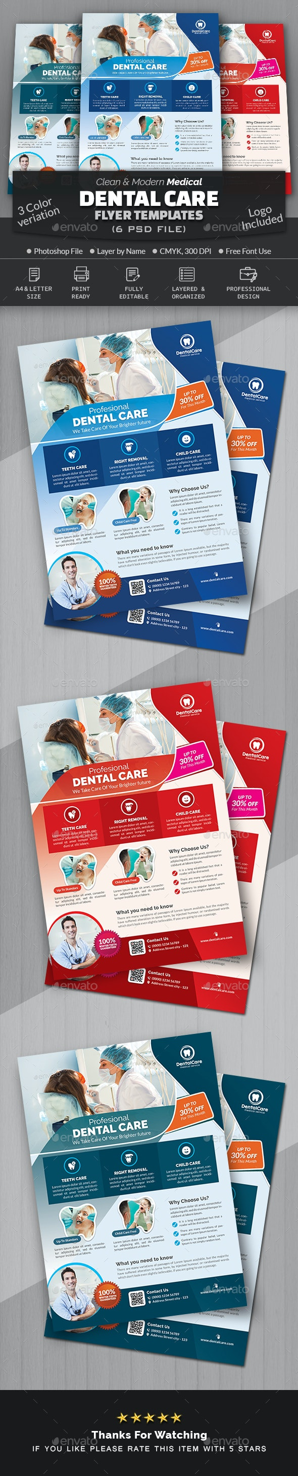 Dental Flyer Template - Corporate Flyers