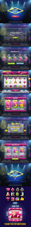 Slot Machine Game Pack - Game Kits Game Assets
