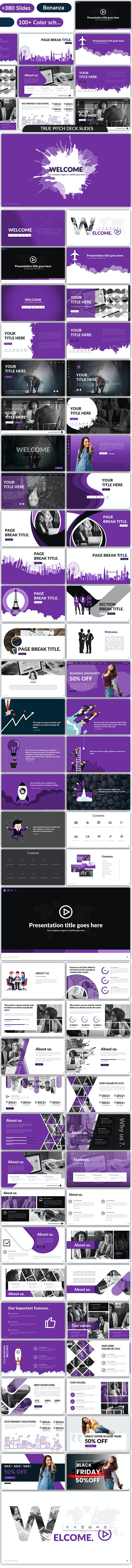Dreamz - Pitch Deck Tool Kit - Business PowerPoint Templates