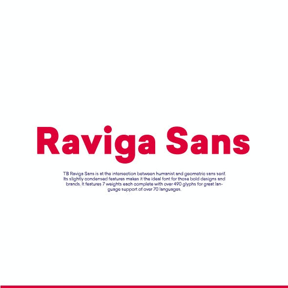 TB Raviga Sans Font