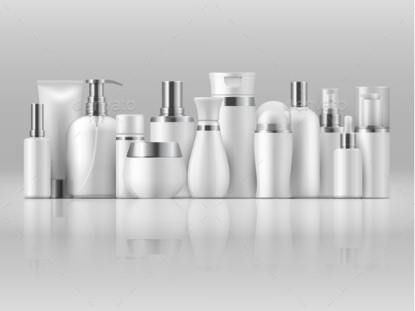 Cosmetic Product Package - Man-made Objects Objects