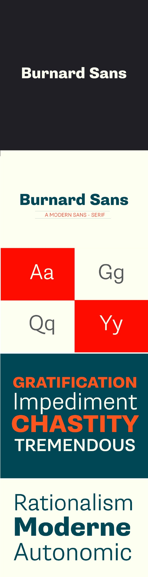 Burnard Sans Font - Miscellaneous Sans-Serif
