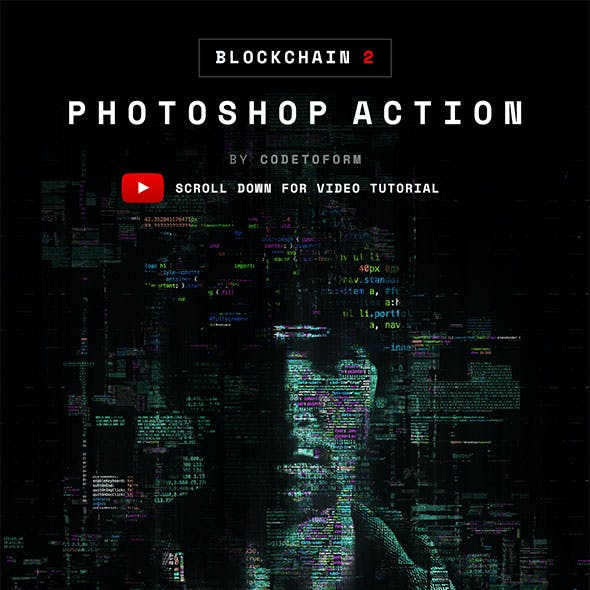 Blockchain 2 Photoshop Action