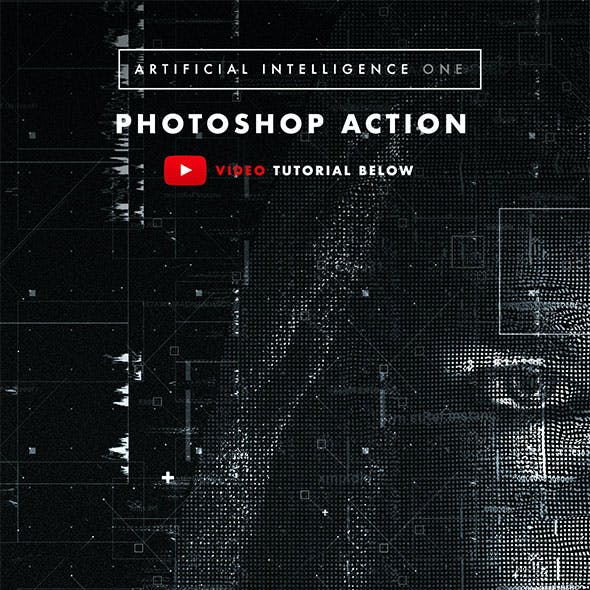 Artificial Intelligence One Photoshop Action