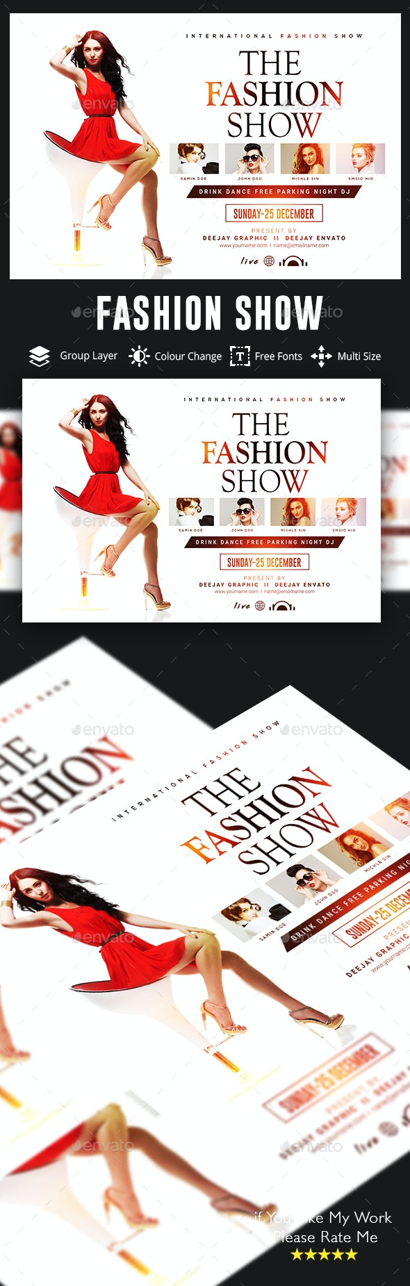 Fashion Flyer - Events Flyers