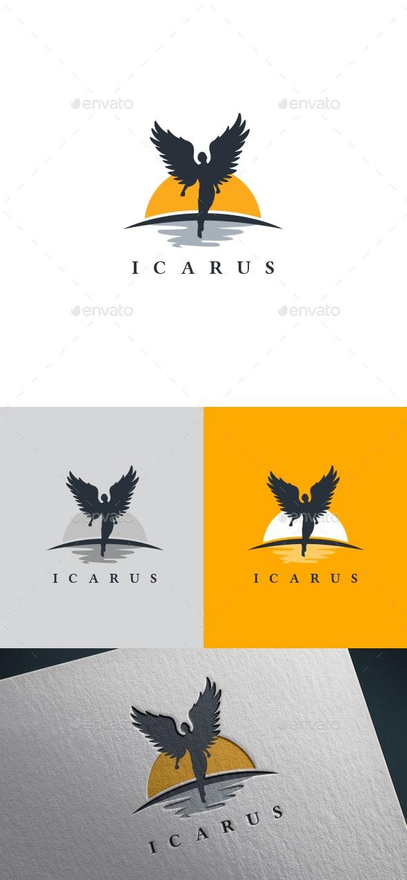ICARUS - Humans Logo Templates