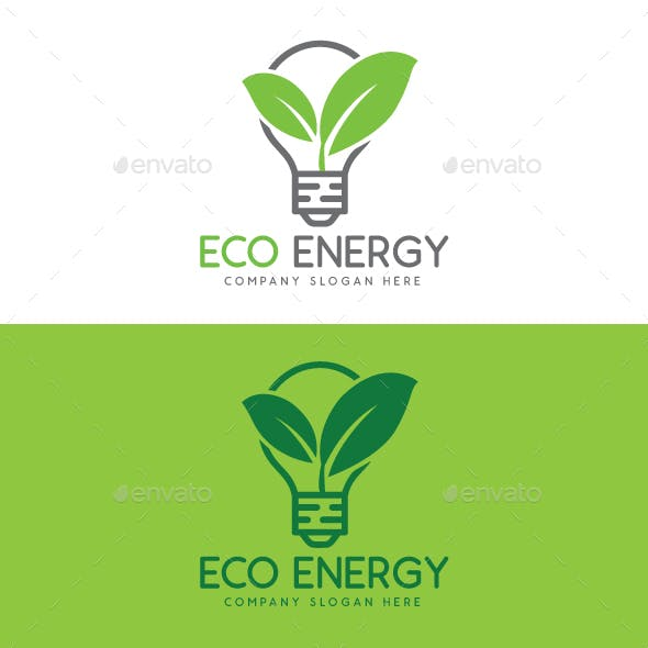 Eco and Green Energy Logo Template