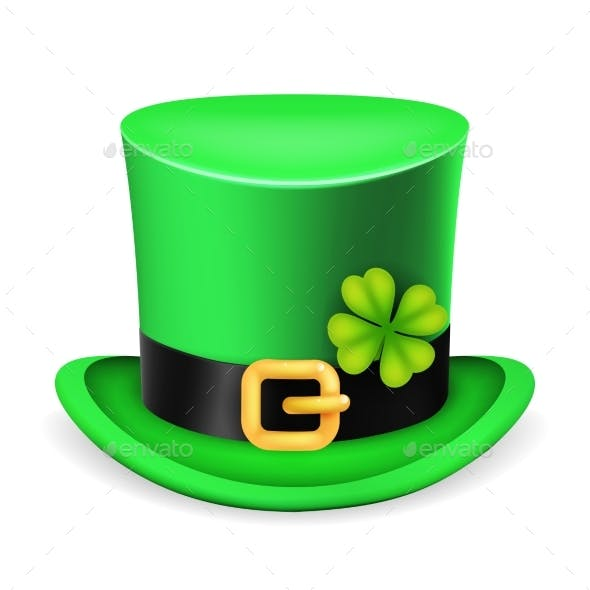 Top Hat Saint Patrick Day