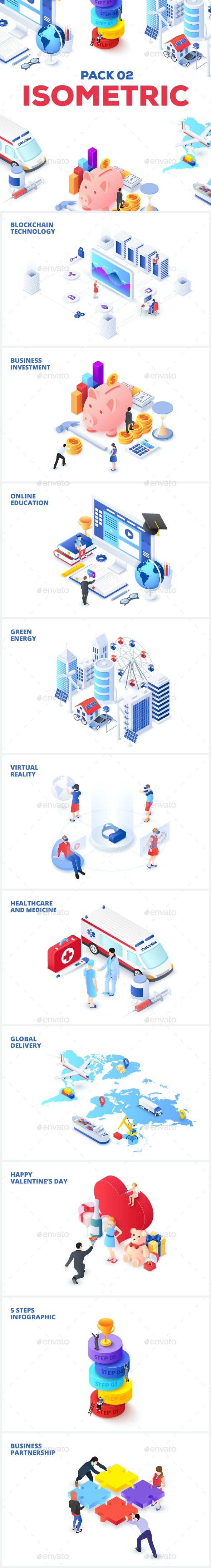 Isometric Pack 02 - Miscellaneous Conceptual