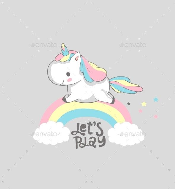 Unicorn Poster Design - Backgrounds Decorative