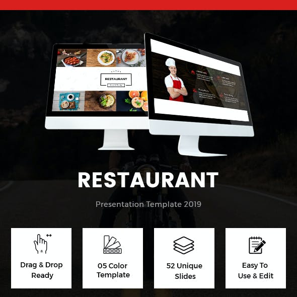 Food - Restaurant Keynote Template 2019