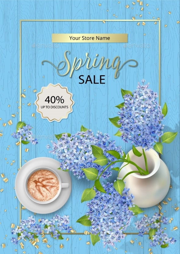Spring Sale Poster - Seasons Nature