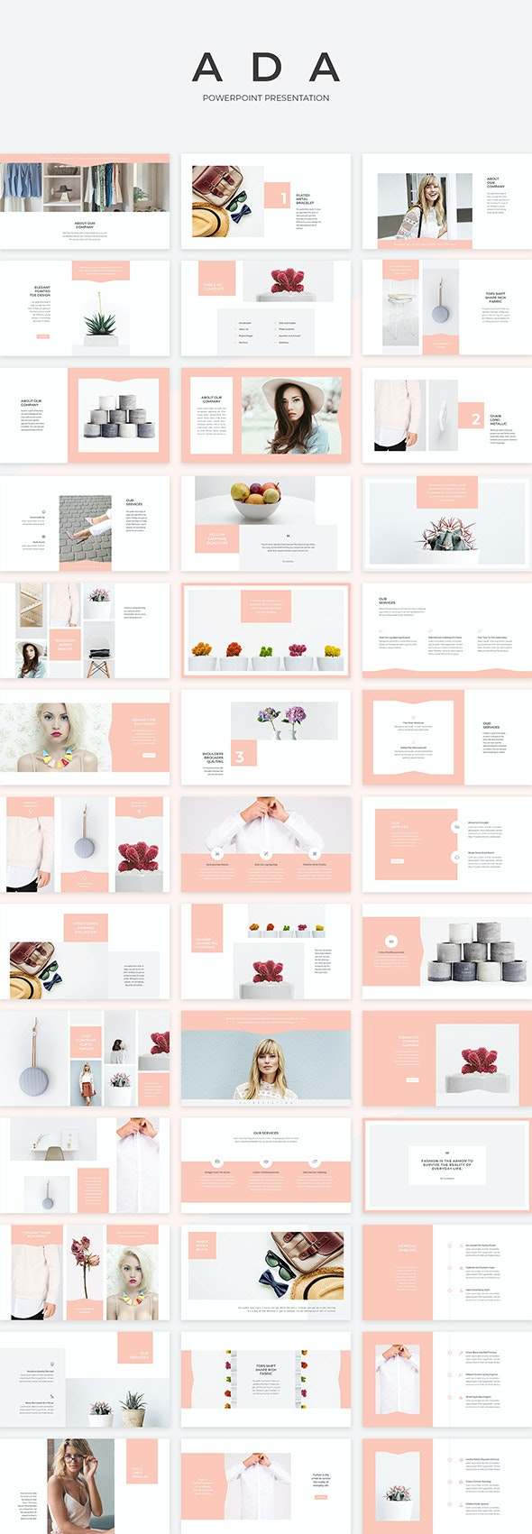 Ada PowerPoint Presentation Template - PowerPoint Templates Presentation Templates