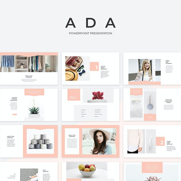 Ada PowerPoint Presentation Template