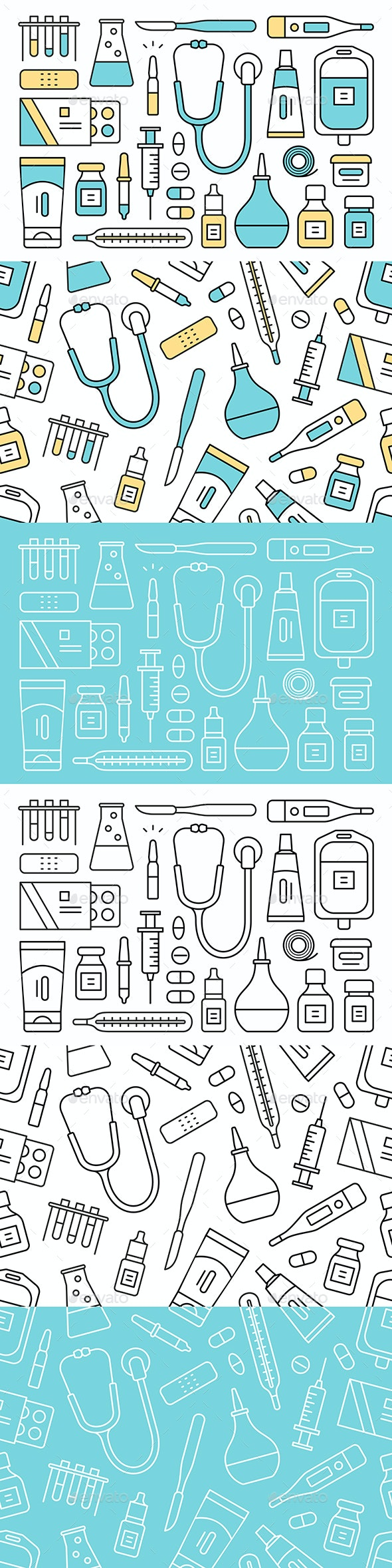 Medical and Health Care Icons - Health/Medicine Conceptual