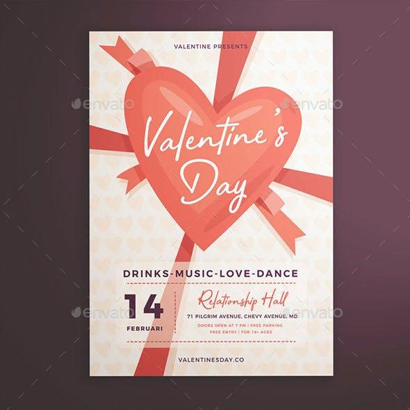 Valentine's Day Flyer Vol. 01