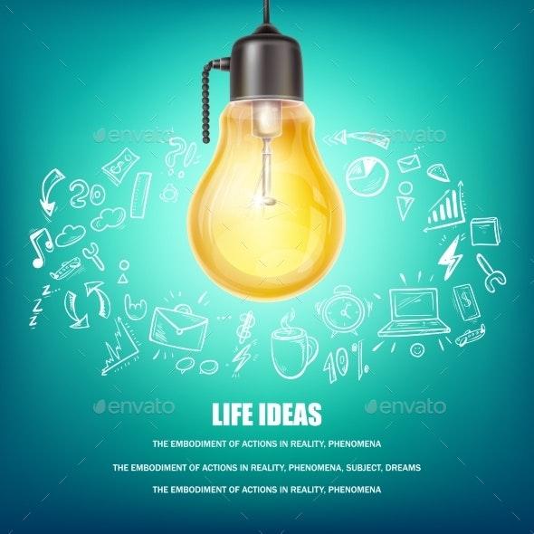 Creative Ideas Vector Concept Illustration - Miscellaneous Vectors