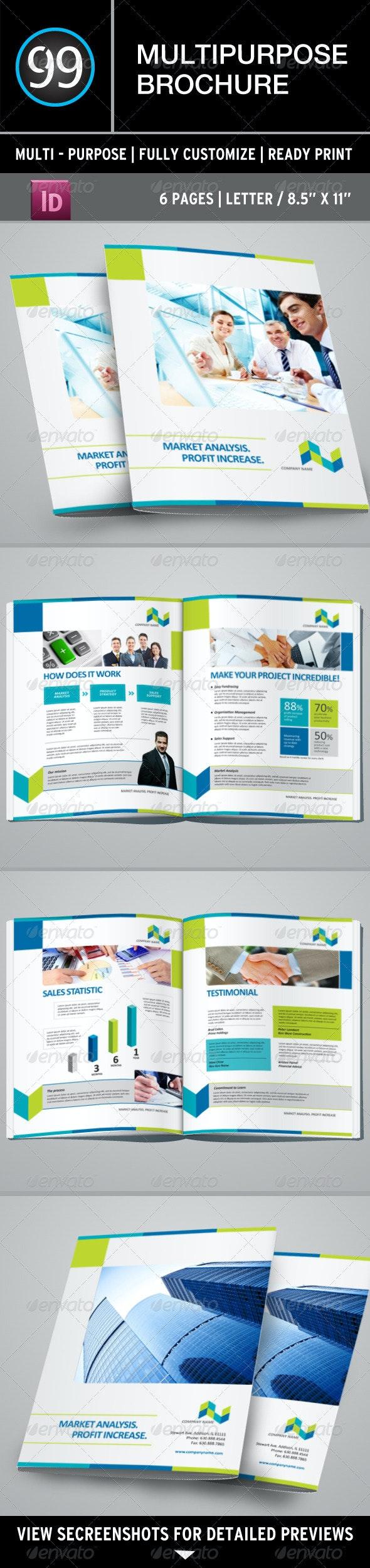 Multipurpose Brochure - Corporate Brochures