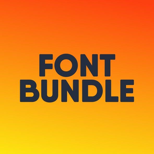 February Sans Serif Font Bundle