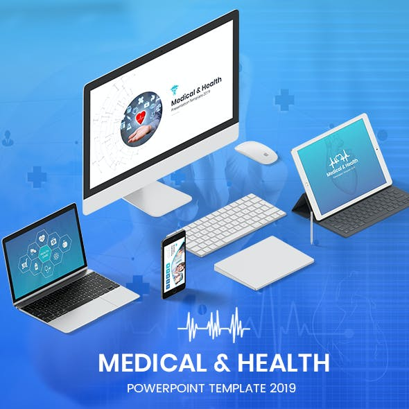 Medical & Health Powerpoint Template 2019