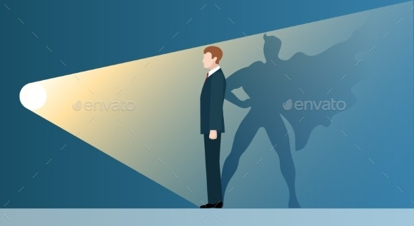 Talent Headhunting Business Concept - People Characters