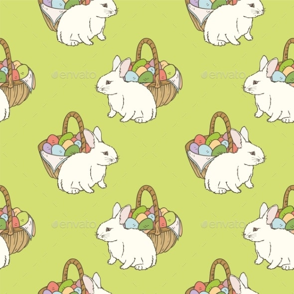Easter Seamless Pattern - Miscellaneous Seasons/Holidays