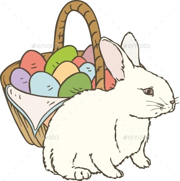 Easter Rabbit - Miscellaneous Seasons/Holidays