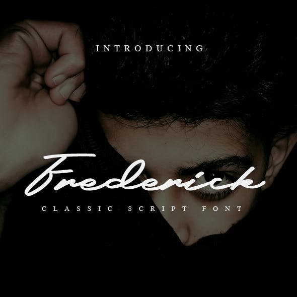 Frederick a Classic Script Font
