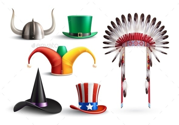 Traditional Hats For Masquerade - Seasons/Holidays Conceptual