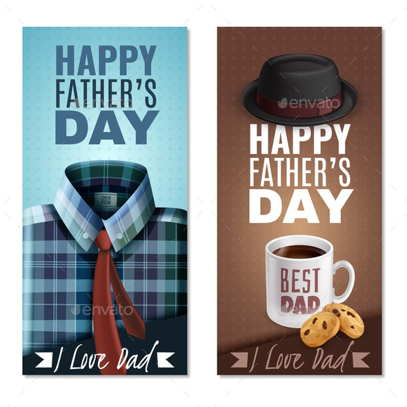 Fathers Day Banners - Seasons/Holidays Conceptual