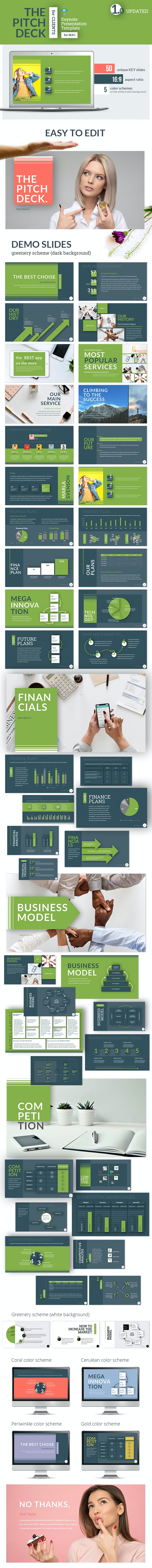 Pitch Deck for Clients Keynote Presentation Template - Keynote Templates Presentation Templates