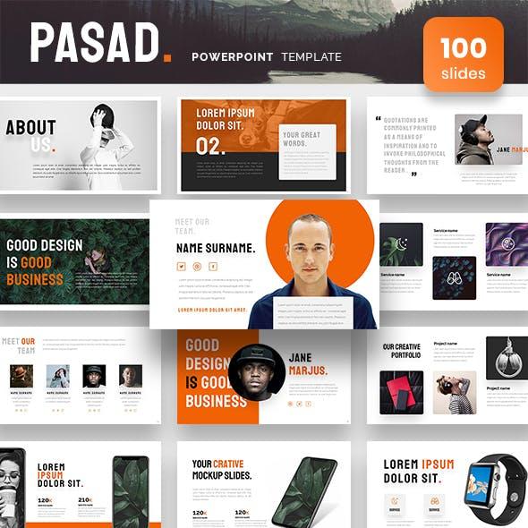 Pasad Powerpoint Presentation Template