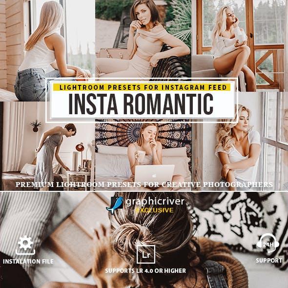 Insta romantic Lightroom presets