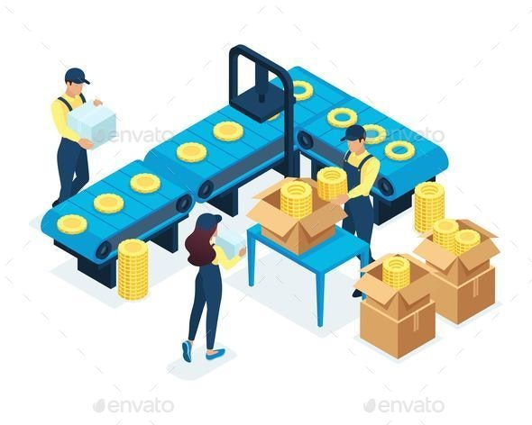 Isometric Concept for Production - Concepts Business