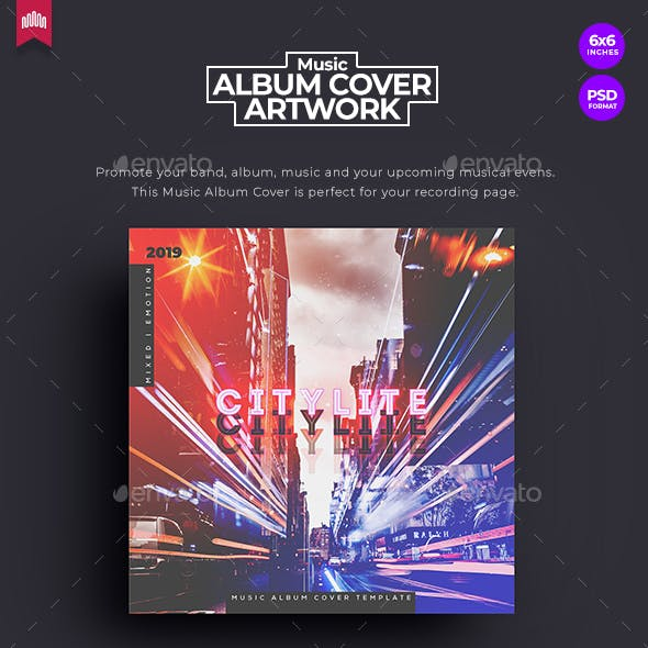 Citylite - Music Album Cover Artwork